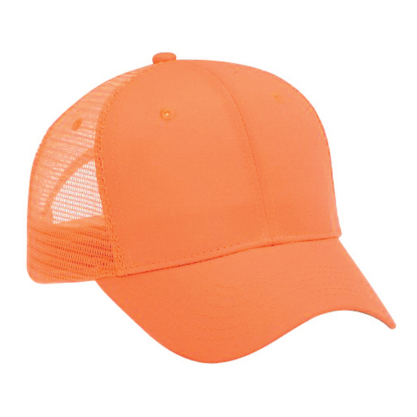 Imprinted Six Panel Pro Style Mesh Back Cap