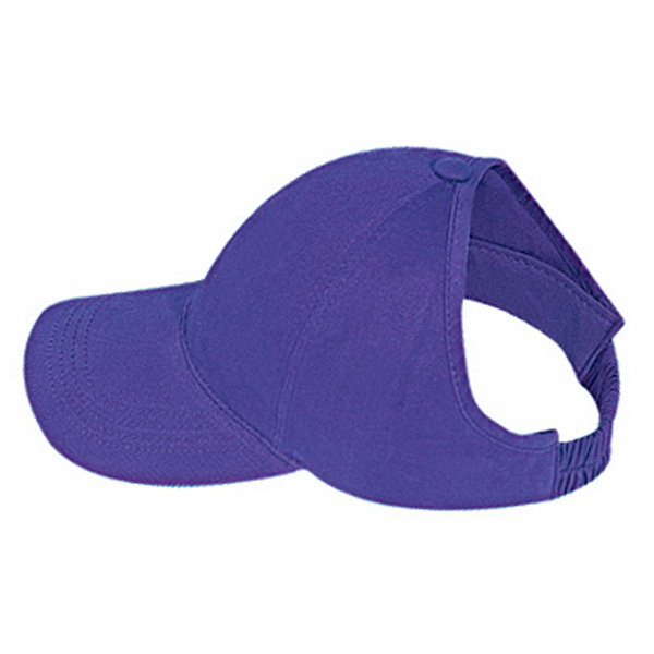 Imprinted Ponytail Low Profile Pro Style Cap