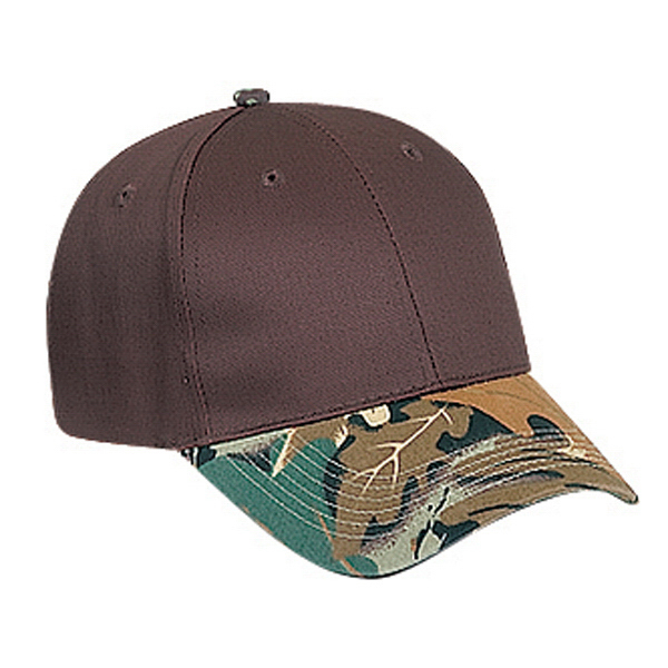 Imprinted Six Panel Low Profile Cap