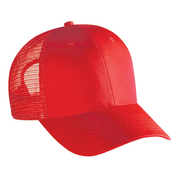 Imprinted Low Profile Pro Style Mesh Back Cap