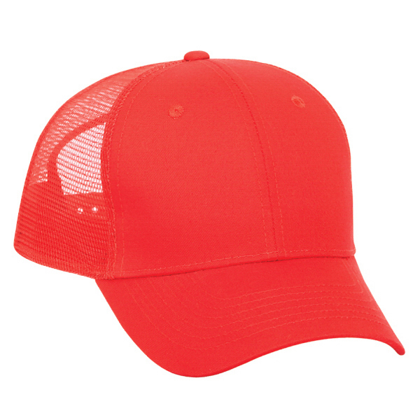 Customized Low Profile Pro Style Mesh Back Cap