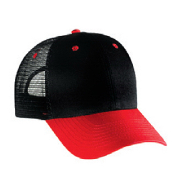 Customized Low Profile Pro Style Mesh Cap