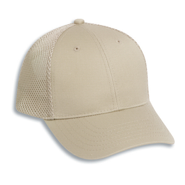 Printed Low Profile Pro Style Air Mesh Back Cap