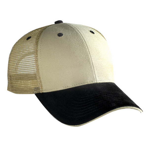Custom Low Profile Pro Style Mesh Back Cap