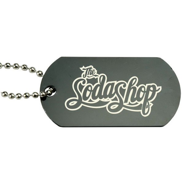 Imprinted Anodized Aluminum Dog Tag