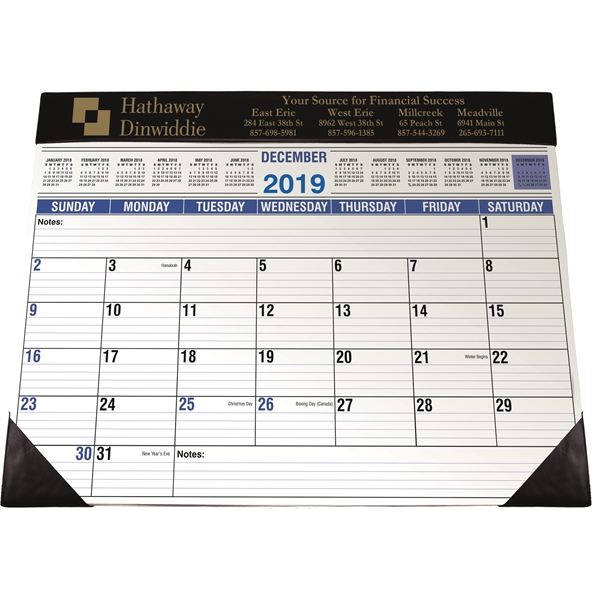 Personalized Full Size Desk Planner