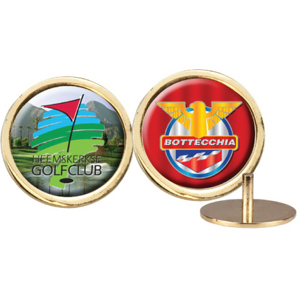 Personalized Domed Metal Ball Marker