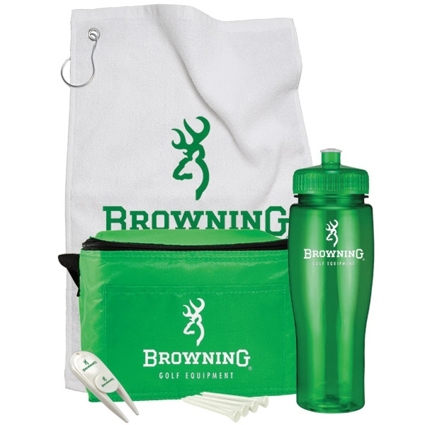 Customized Contour Bottle Golf Gift Set