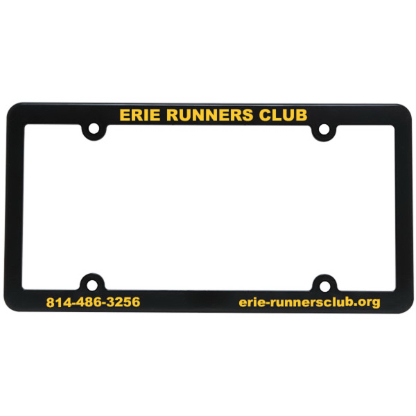 Promotional Slim Line License Plate Frame