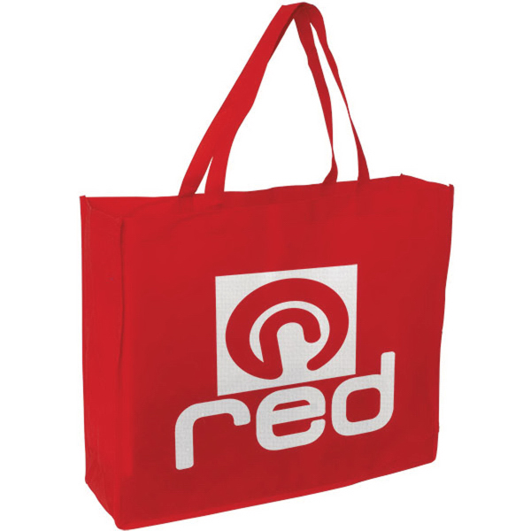 """Customized 20"""" x 16"""" Plus 6"""" Gusseted Tote bag"""