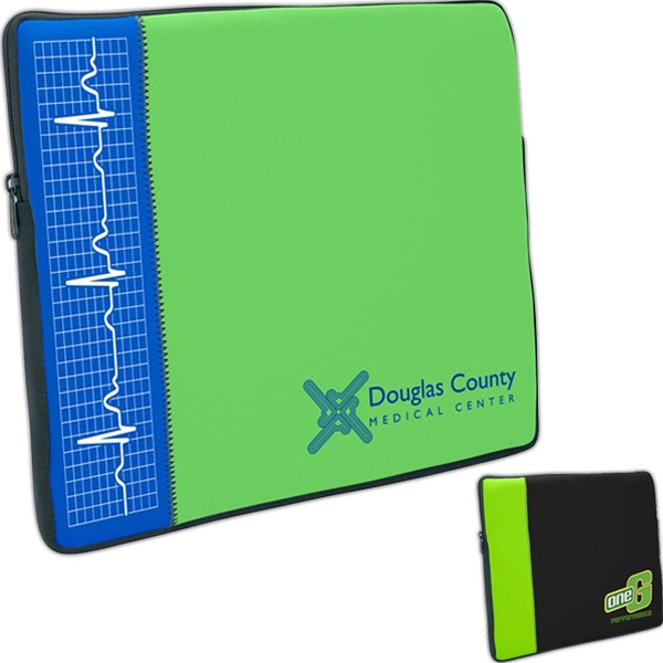 Personalized Zippered Neoprene Laptop Sleeve