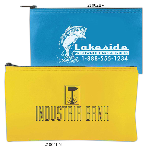 Imprinted Horizontal Bank Bag