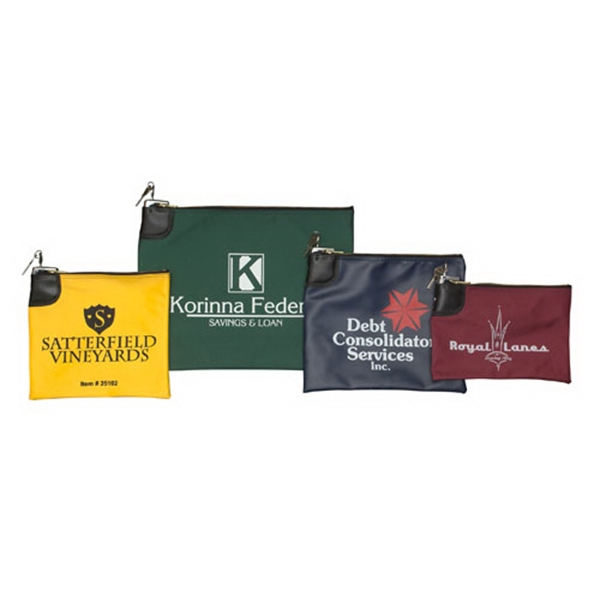 Promotional Locking Bank Bag