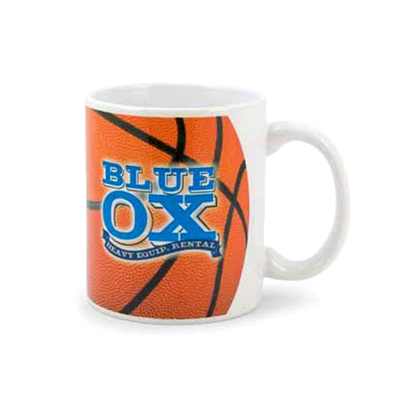 Printed 11 oz. Basketball Mug