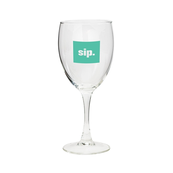 Customized 10 oz. Wine glass