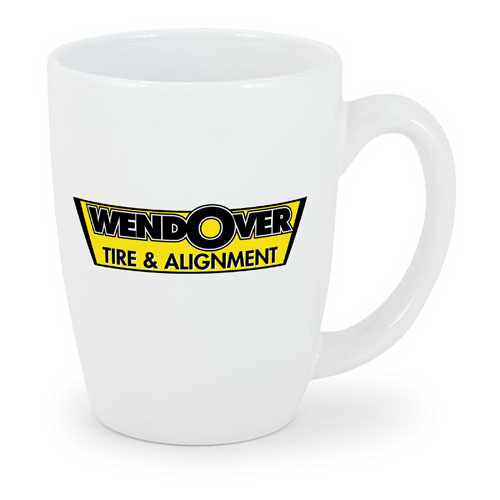 Customized 11 oz. White Challenger Mug