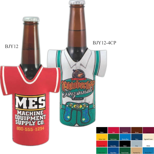 Custom Longneck Bottle Jersey - 4CP