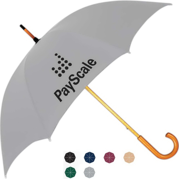 Printed Commuter Fashion Stick Umbrella
