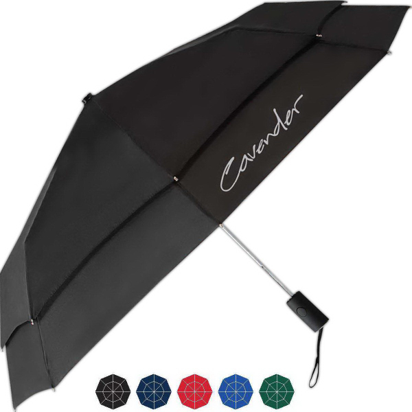 Personalized Razor Automatic Open And Close Folding Umbrella