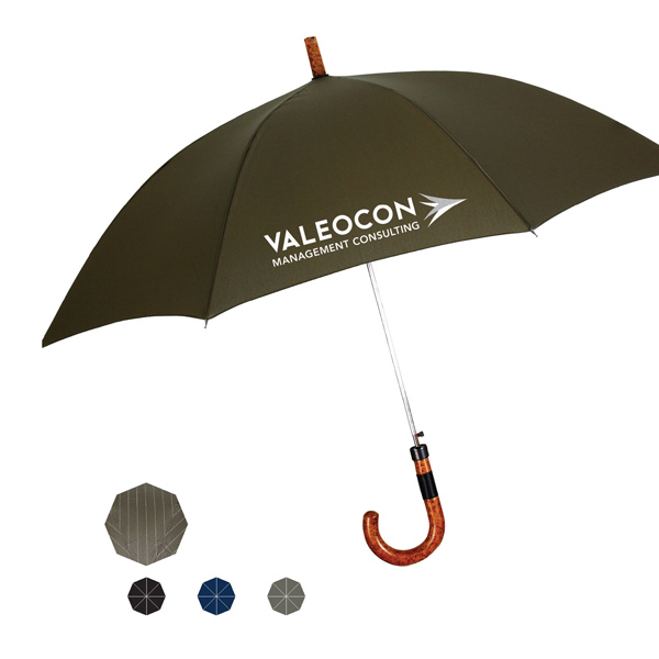 Personalized Executive Fashion Stick Automatic Open Umbrella