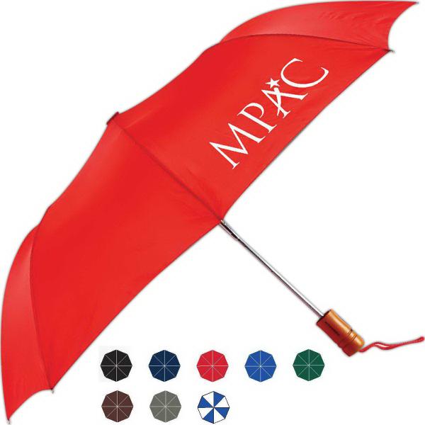 Customized Windy Automatic Open Folding Umbrella