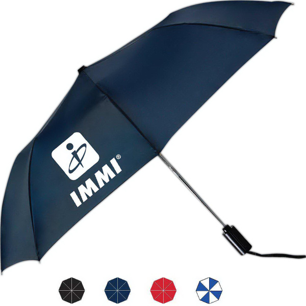 Personalized Mist Automatic Open And Close Folding Umbrella