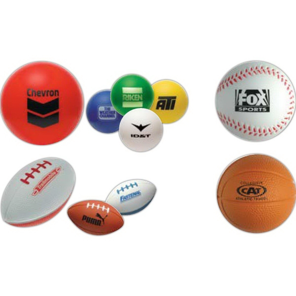 Printed Sports Stress Relievers
