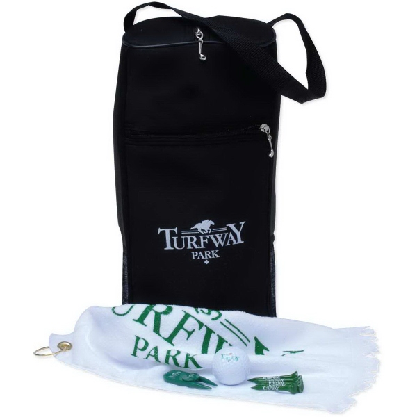 Printed Golf Shoe Bag Tournament Pack