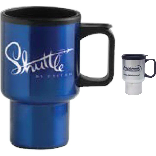 Personalized 14 oz Economy Stainless Steel Mug