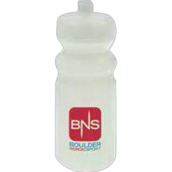 Printed 20 oz Biodegradable Sport Bottle