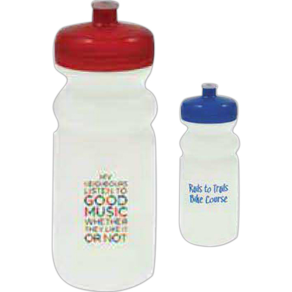 Customized 20 oz Biodegradable Sport Bottle