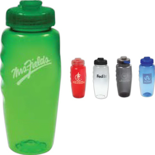 Imprinted 30 oz Poly-Cool Bottle