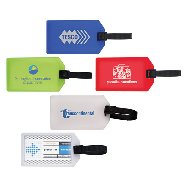 Custom Business Card Luggage Tag