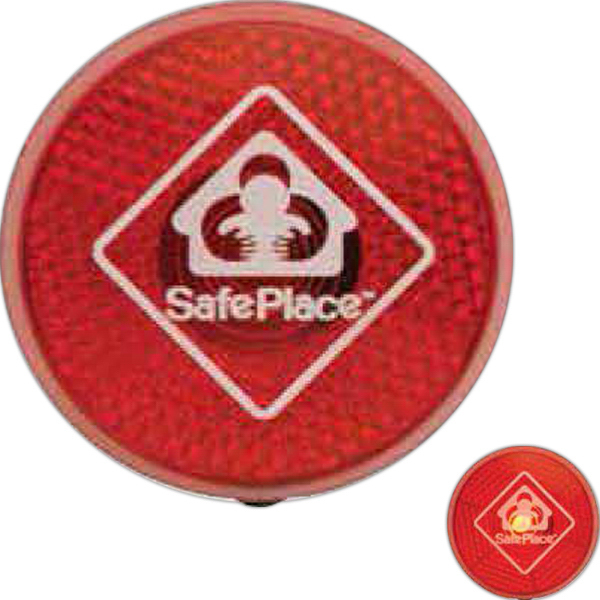 Promotional Circle Safety Flasher