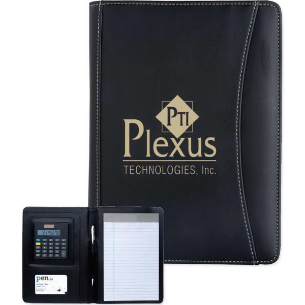 Printed Jr. Executive Crescent Calculator Padfolio