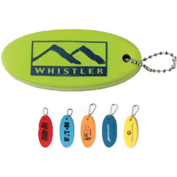 Imprinted Floater Key Chain