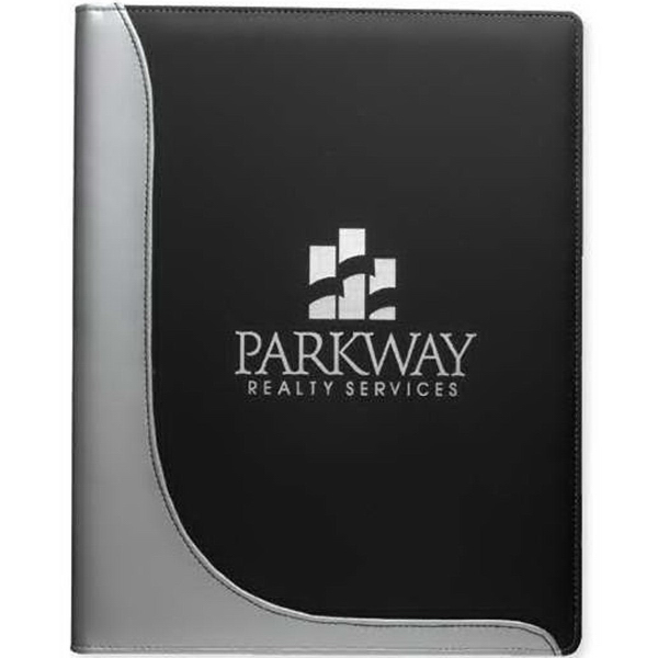 Printed Executive L-Curve Padfolio