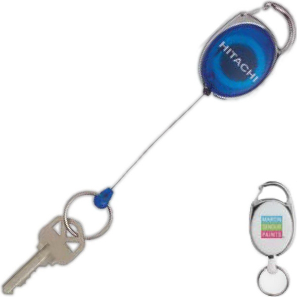 Printed Retractable Key Ring