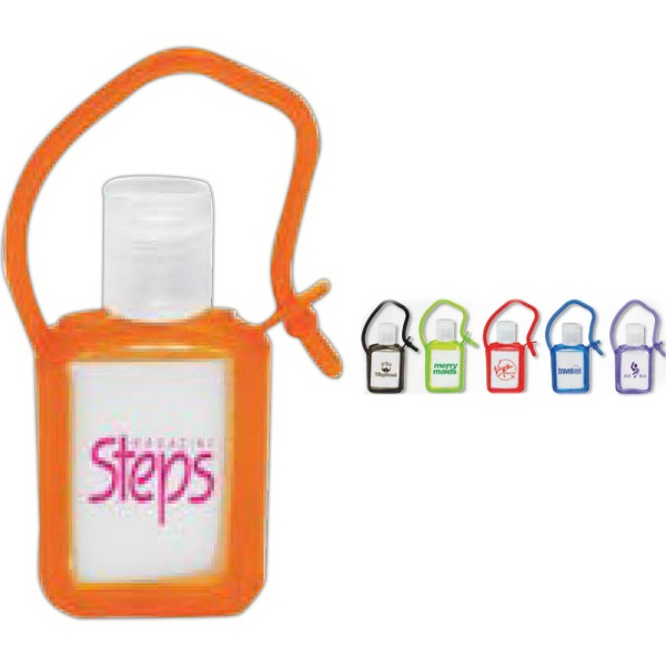 Promotional Tag Along Gel Sanitizer