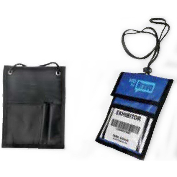 Personalized Trade Show Badge Holder
