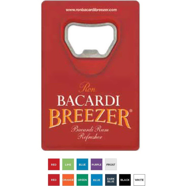 Imprinted Credit Card Bottle Opener (TM)
