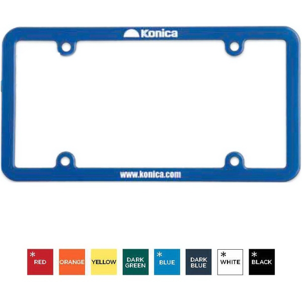 Custom License Plate Frame (4 Holes - Universal)