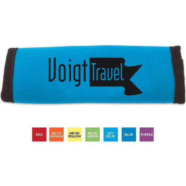 Printed Grip-It (TM) Luggage Identifier