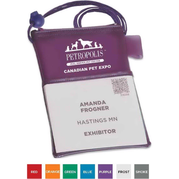 Customized Tradeshow Badgeholder