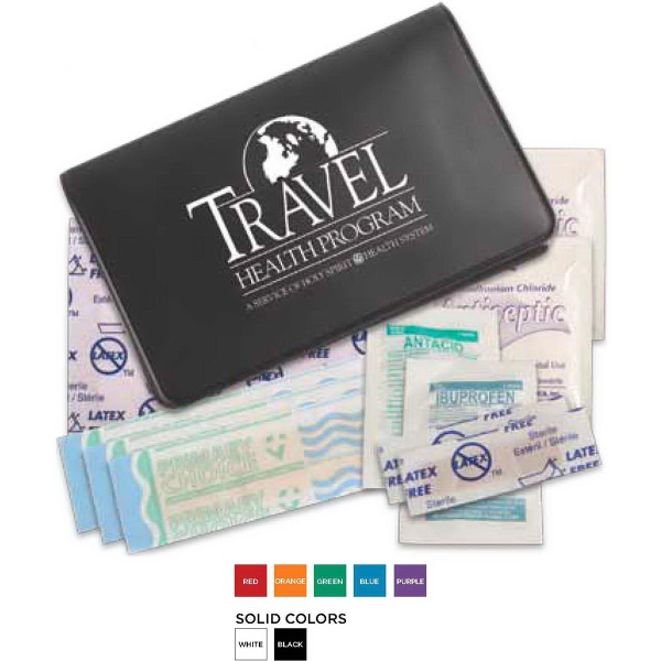Printed First Aid Traveler
