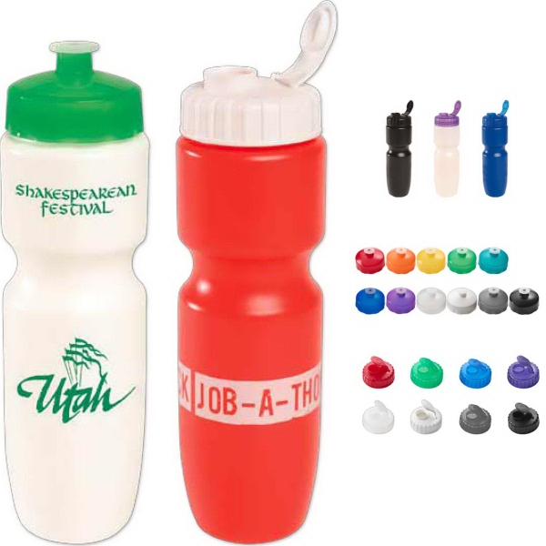 Imprinted 28 oz Bike Bottle