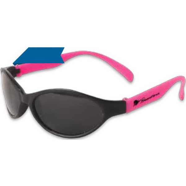 Personalized Junior Tropical Wrap Sunglasses