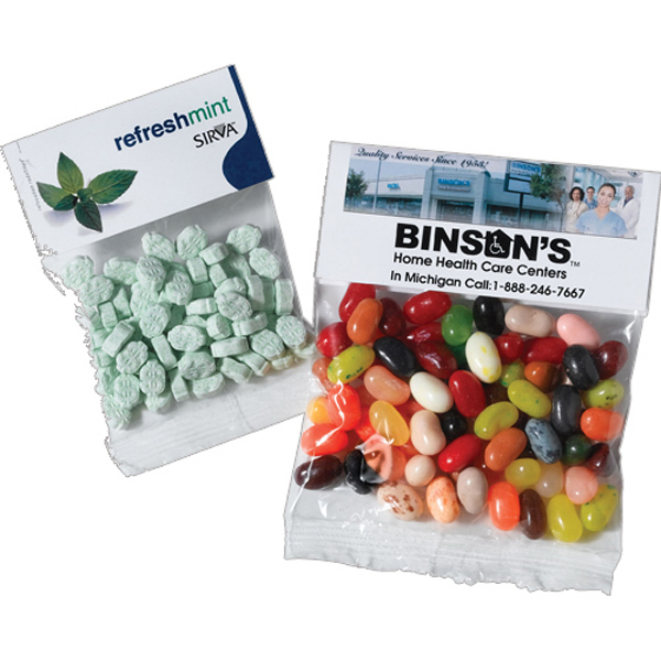 Promotional Candy In Clear Cello Bag