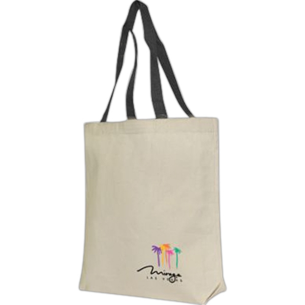 Imprinted 100% Cotton Canvas Tote Bag
