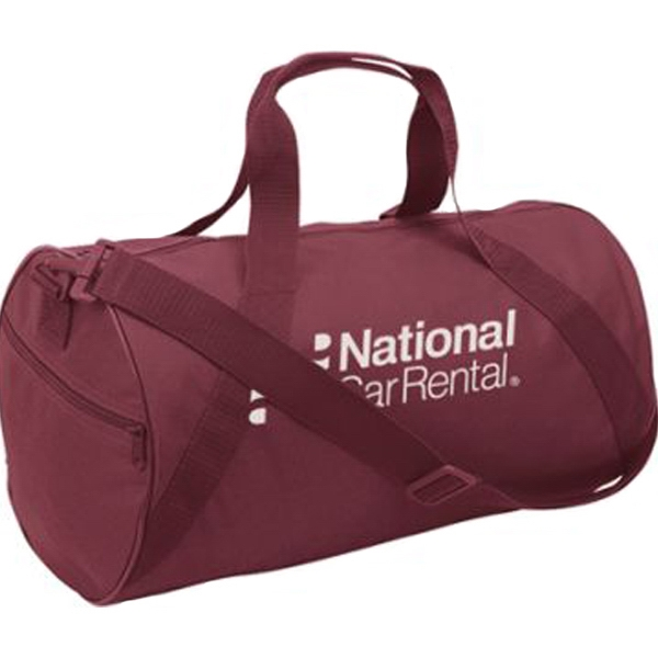 Custom Large Round Duffel Bag